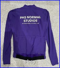 Pas Normal Studios Long Sleeve Jersey Purple Medium Excellent Condition