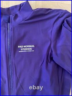 Pas Normal Studios Men's Long Sleeve Jersey Purple, Grösse L