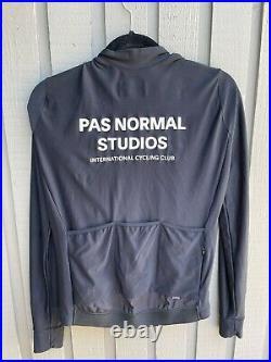 Pas normal studios long sleeve cycling jersey size medium