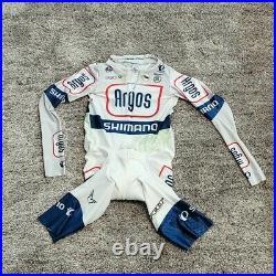 Pearl Izumi Team Argos Shimano Long-Sleeve Cycling Skinsuit Sz M