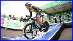 Primoz Roglic Team Issue Lotto NL Jumbo Timetrial skinsuit (Long sleeve) SMALL