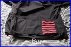 Pro Team Gray Training Rapha Cycling Winter Jacket L/S Long Sleeve BNWT Sz M