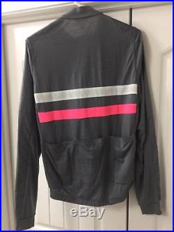 RAPHA Brevet Windblock Long Sleeve Cycling Jersey Mens Large NEW withTags! $195