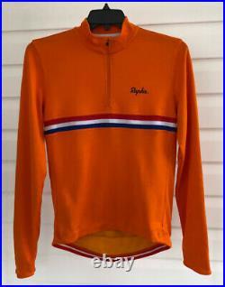RAPHA Cycling Jersey Long-Sleeve Sportswool Amstel Gold Race Rare Men's Large