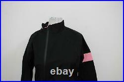 RAPHA Ladies Black Pink Long Sleeve Cycling Classic Rain Jacket Size M BNWT
