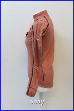 RAPHA Ladies Classic Wind Jacket II Long Sleeve Warm Rose Pink XS BNWT RRP145