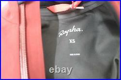 RAPHA Ladies Classic Winter Dark Red Long Sleeve Zip Cycling Jacket XS NEW