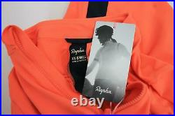 RAPHA Ladies Coral Pink Long Sleeve Souplesse Thermal Cycle Jersey XXS BNWT