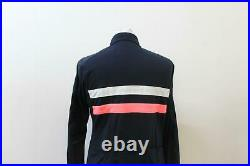 RAPHA Ladies Dark Navy Blue Brevet Long Sleeve Wind Block Cycling Jersey M BNWT