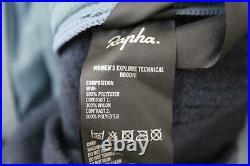 RAPHA Ladies Dark Navy Blue Long Sleeve Explore Technical Hoodie XS BNWT