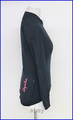 RAPHA Ladies Dark Navy Blue Souplesse Long Sleeve Aero Cycling Jersey S BNWT