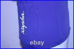 RAPHA Ladies Jersey Souplesse Thermal Long Sleeve Zip Purple Top XS BNWT