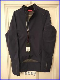 RAPHA Ladies Navy Blue Archive Winter II Long Sleeve Cycling Jacket M BNWT