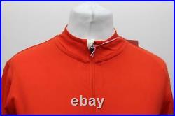 RAPHA Ladies Orange Long Sleeve Souplesse Zip Up Cycling Jersey Size L BNWT