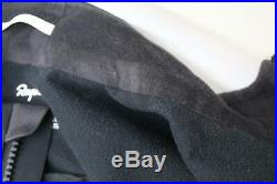 RAPHA Men's Black Long Sleeve Pro Team Training Cycling Jacket Size S NEW