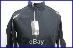 RAPHA Men's Black Long Sleeve Zip Front Cycling Classic Wind Jacket Size L NEW