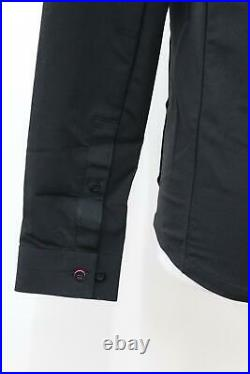 RAPHA Men's Black Long Sleeves Hidden Placket Softshell Overshirt S BNWT