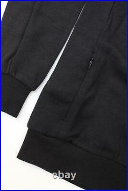 RAPHA Men's Black Merino Wool Long Sleeve Crew Neck Cycling Sweatshirt XS BNWT