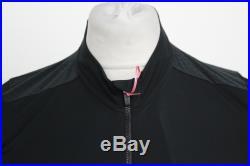 RAPHA Men's Black Pro Team Long Sleeve Zip Up Aero Cycling Jersey Size L BNWT