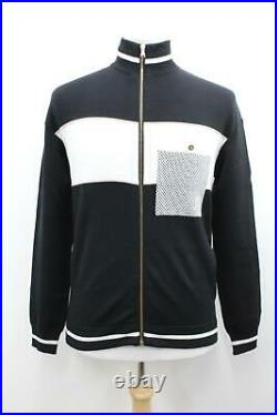 RAPHA Men's Black/White Long Sleeve Limited Edition Milano-Roma Track Top M BNWT