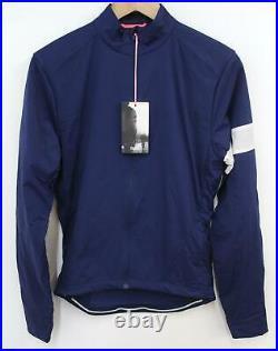 RAPHA Men's Blue Long Sleeve Pocket Zip Cycling Winter Windblock Jersey S BNWT