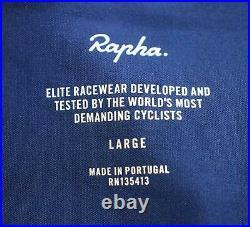 RAPHA Men's Blue Pro Team Long Sleeve Midweight Cycling Jersey L RRP130 BNWT