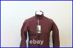 RAPHA Men's Burgundy Red Long Sleeve Classic Winter Cycling Jacket M NEW RRP260