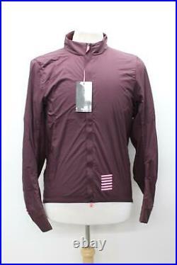 RAPHA Men's Burgundy Red Pro Team Insulated Long Sleeve Cycling Jacket XXL BNWT