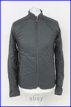 RAPHA Men's Carbon Grey Long Sleeve Lightweight Transfer Cycling Jacket S BNWT