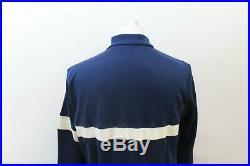 RAPHA Men's Classic Long Sleeve Climbs Navy White Wool Blend Jersey Size L BNWT