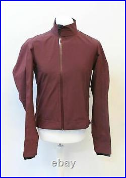 RAPHA Men's Classic Long Sleeve Cycling Winter Jacket Burgundy Red L NEW RRP260