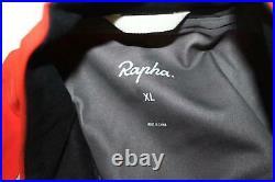 RAPHA Men's Dark Orange Classic Long Sleeve Cycling Winter Jacket XL BNWT RRP260
