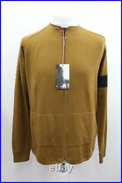 RAPHA Men's Gold Merino Zip Through Long Sleeve Hi-Vis Cycling Jacket L BNWT