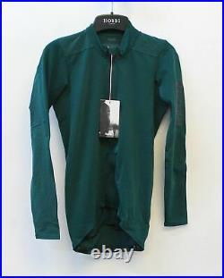 RAPHA Men's Green Pro Team Long Sleeve Aero Cycling Jersey S BNWT RRP150