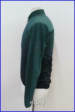 RAPHA Men's Green Pro Team Long Sleeve Colourburn Thermal Jersey Size XL BNWT