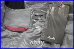 RAPHA Men's High Rise Grey Long Sleeve Packable City Wind Cycling Jacket XL BNWT