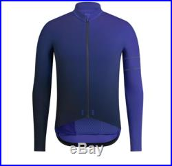 RAPHA Men's Jersey Pro Team Long Sleeve Thermal Blue-Navy Colourburn Small BNWT