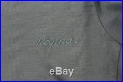 RAPHA Men's Lombardia Dark Green Mustard Brown Long Sleeve Jersey XS BNWT