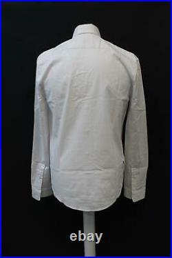 RAPHA Men's Long Sleeve Stretch Cotton Cycling Oxford Shirt White M BNWT