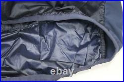 RAPHA Men's Navy Blue Hi-Vis Brevet Insulated Long Sleeve Cycling Jacket L BNWT