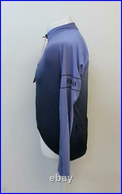 RAPHA Men's Pro Team Long Sleeve Thermal Jersey Colour Burn LNB Blue L BNWT