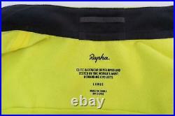 RAPHA Men's Pro Team Training Long Sleeve Cycling Jacket Yellow L NEW RRP130