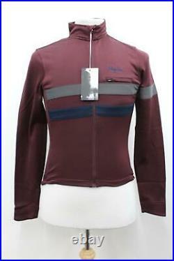 RAPHA Men's Purple Long Sleeve Stretch Brevet Zip-Up Cycling Jersey S BNWT