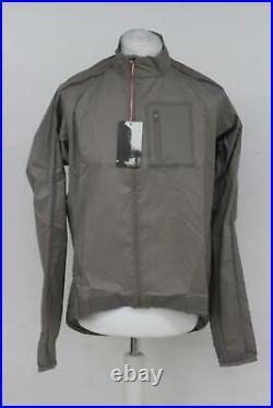 RAPHA Men's Stone Grey Long Sleeve Classic Wind Cycling Jacket II XL BNWT