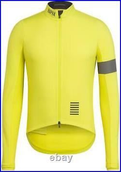 RAPHA Men's Yellow Long Sleeve 3-Layer Pro Team Training Jacket Size S BNWT