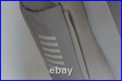 RAPHA Mens Jersey Pro Team Long Sleeve Thermal Zip Through Light Grey Small BNWT