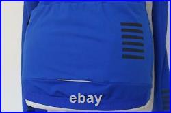 RAPHA Mens Jersey Thermal Pro Team Long Sleeve Royal Blue Zip Through Small BNWT
