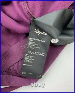 RAPHA Pro Team Long Sleeve Aero Jersey Purple Size Large New