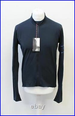 RAPHA Pro Team Long Sleeve Cycling Thermal Jersey Dark Navy Blue XXL BNWT RRP150