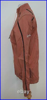 RAPHA Women's Dusty Pink Long Sleeved High Neck Classic Wind Jacket II S BNWT